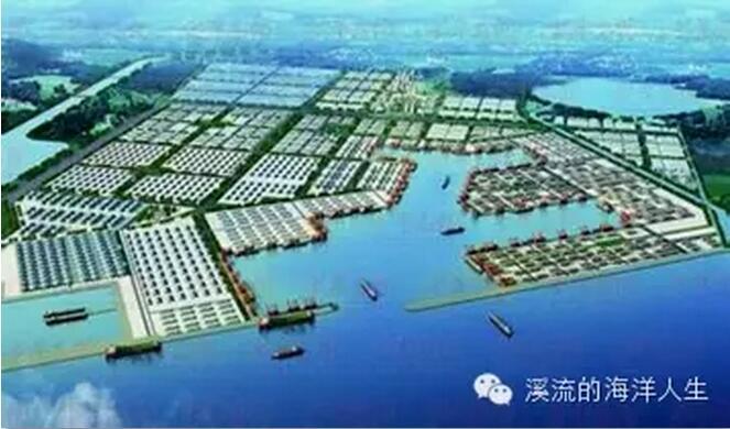 港口 码头 平面图 663_390